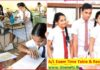 GCE AL Exam Time Table dates Results Release to online examination department website www.doenets.lk