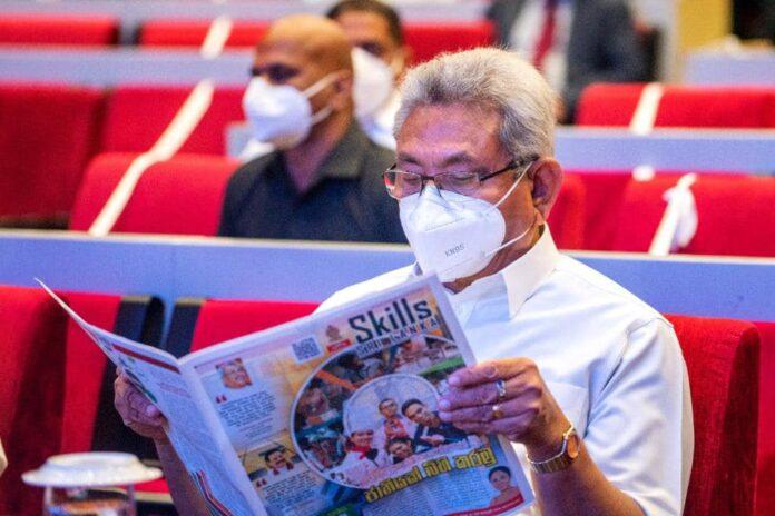 Skills Sri Lanka program launched under President & Prime Ministers patronage