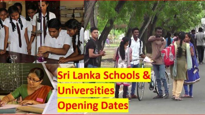 University Opening Dates to decide in Sri Lanka