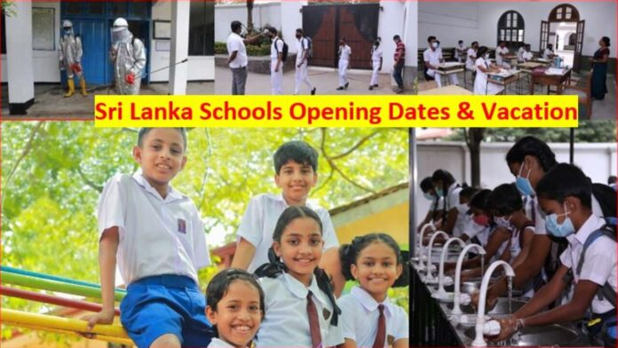 Sri Lanka Schools Re Opening Dates