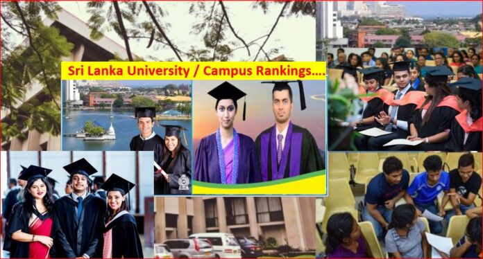 Sri Lanka new university ranking released