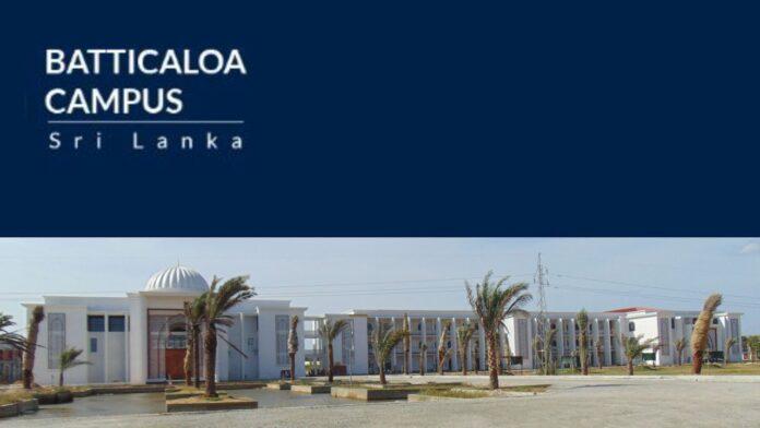 Sri Lanka Government to take over Batticaloa Campus