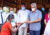 President Gotabaya Rajapaksa goes North for Discussion with the Village program