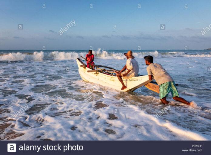Sri Lankan fishermen arrested in Myanmar return to Sri Lanka