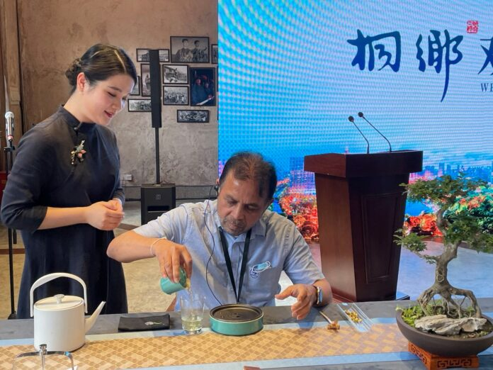 Ambassador Dr Palitha Kohona attends International Tea Day Ceremony