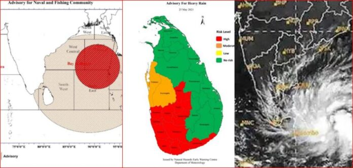 Cyclone Yaas to reach India No direct impact to Sri Lanka Expect Very Heavy Rains and Strong Winds Floods