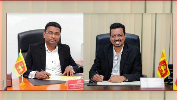 President's Media Division PMD Director General Sudewa Hettiarachchi and Presidents Spokesman Kingsly Rathnayaka assume duties