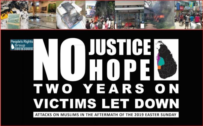 PRG Report Reveals that Accountability and Justice are yet a far away dream for Victims of Post Easter Mob Attacks in Sri Lanka
