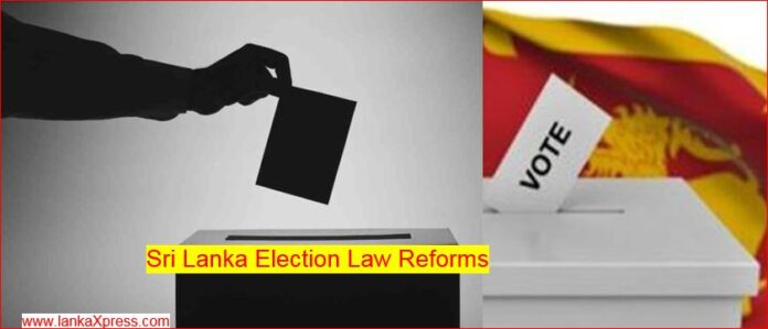 Public Requests to Send Proposals for Sri Lanka Election Law Reforms
