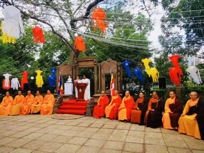 Sri Lanka Embassy in Beijing Celebrates Vesak 2021