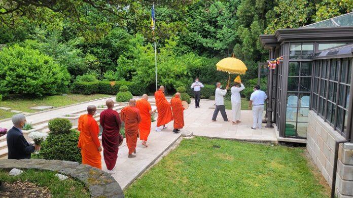 Sri Lanka Embassy in Washington D.C. celebrates Vesak Festival