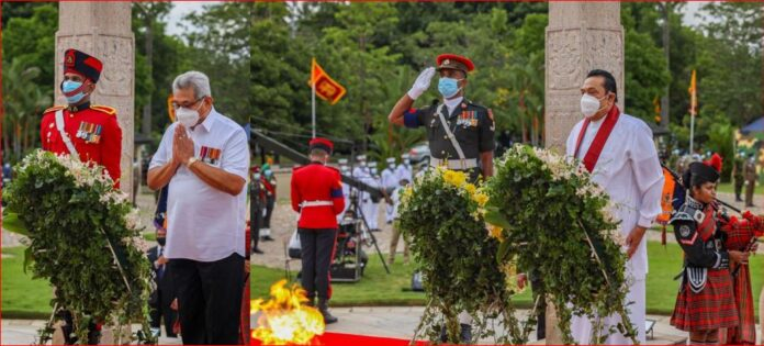 Sri Lanka National War Heroes Commemoration under the patronage of President and Prime Minister