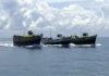 Sri Lanka Navy prevents 11 Indian fishing vessels from entering Sri Lankan waters