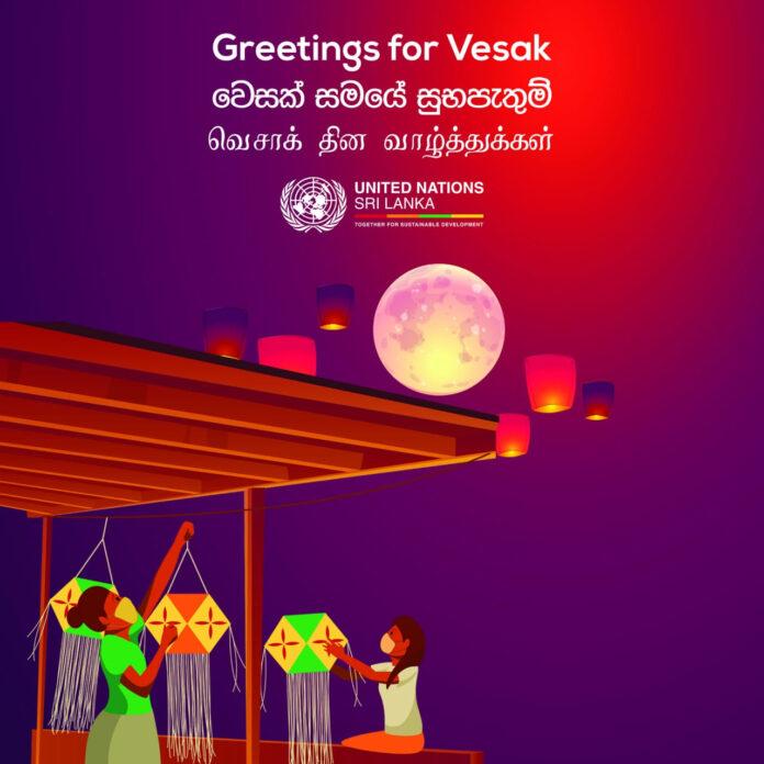 UN Sri Lanka Commemorates the International Day of Vesak 2021