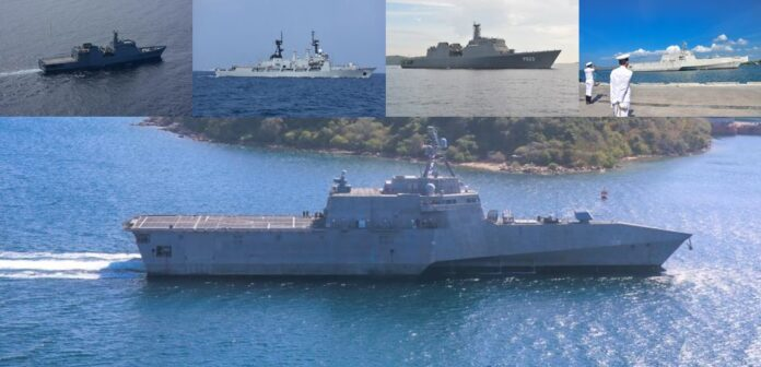 CARAT Exercise at Trincomalee exercise joined by Sri Lanka Navy United States US 7th Fleet and Japanese Maritime Self Defence Force (JMSDF)