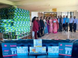 Embassy of Sri Lanka to Lebanon and Syria donated medical equipment