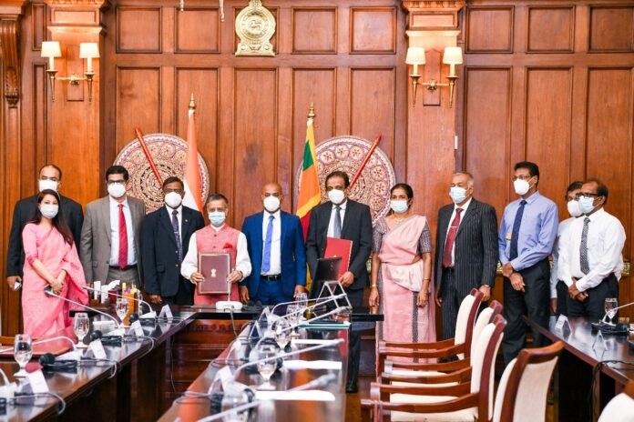 The Government of India, one of the main stakeholders of Sri Lanka for this project, has entered into a bilateral loan agreement by agreeing to grant a Line of Credit amounting to US$ 100 million through the Export Import Bank of India.