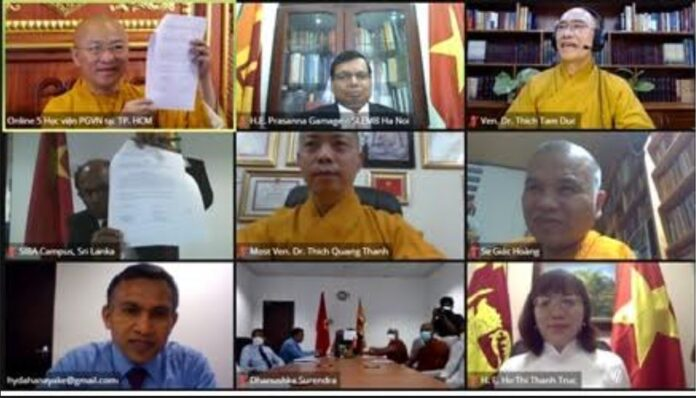 SIBA and Viet Nam Buddhist University VBU enter into MoU on Buddhist Religious Education and Cultural Cooperation
