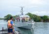 Sri Lanka Navy assists rescue of fishermen aboard fishing vessel in distress