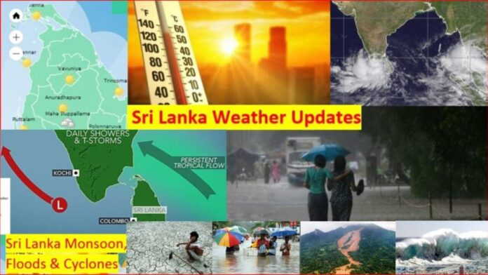 Sri Lanka South west monsoon condition active