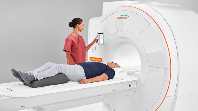 A new MRI (1.5T) Scanner machine for Apeksha Hospital Maharagama