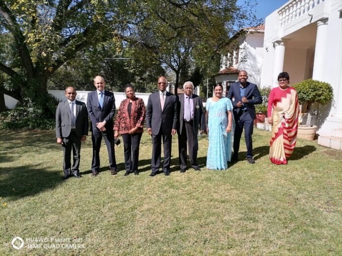 The High Commissioner of Sri Lanka to South Africa Amarasekara hosted a luncheon recently