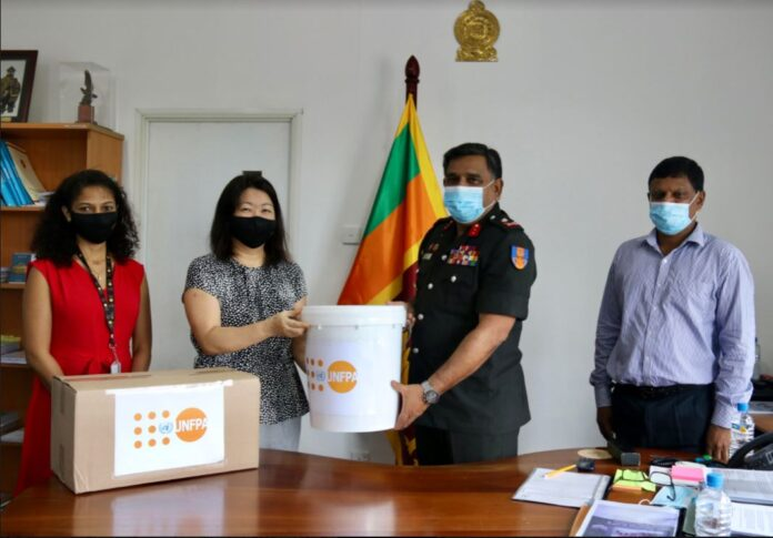 UNFPA presents prepositioning relief supplies as a lifesaving strategy for women and girls in Sri Lanka