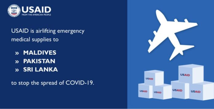 US Government Airlifts Urgent COVID19 Supplies to Surges In Sri Lanka Maldives Pakistan