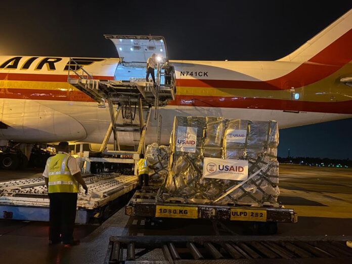 US Government Airlifts Urgent COVID19 Supplies to Surges In Sri Lanka