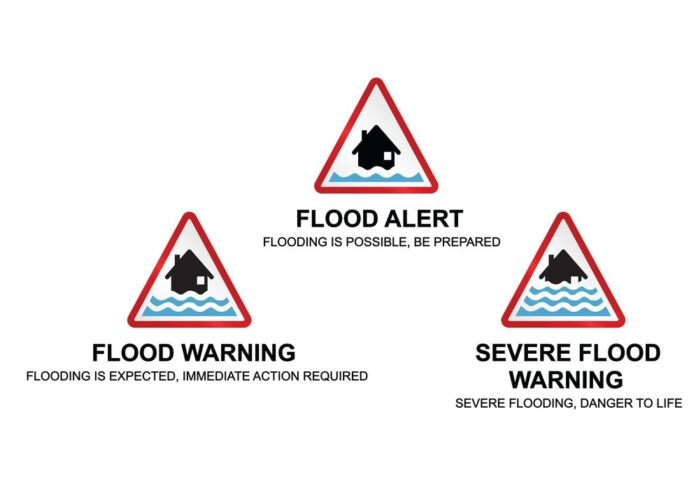 Flood Warning Message Kelani River Basin Flood Warning Alert Message for Kalu Ganga River Basin
