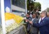High Commissioner of Sri Lanka to Kenya Kananathan and LOLC Chairman Ishara Nanayakkara unveils the first Lord Buddha statue in public place in Kenya