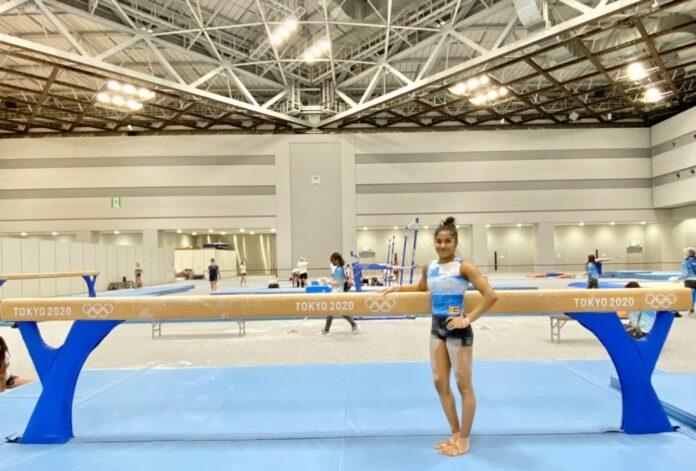 Artistic Gymnast Milka Gehani de Silva at Tokyo Olympics