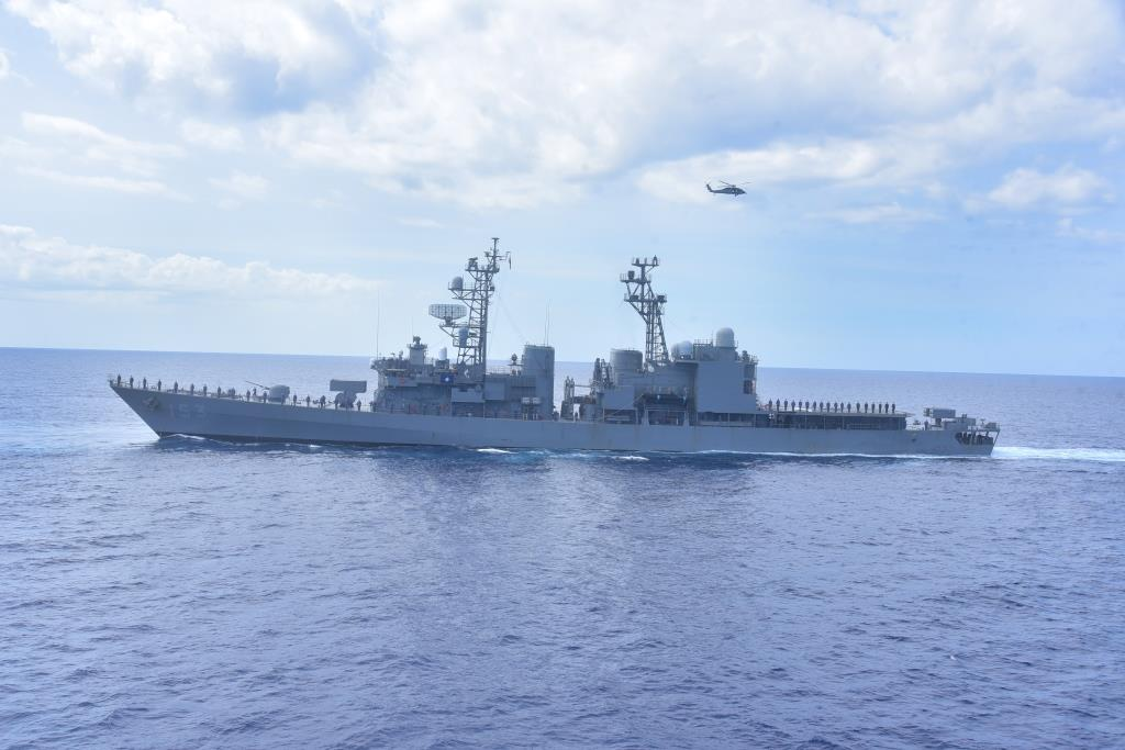 The Cooperation Afloat Readiness and Training Exercise-2021 held with the participation of Sri Lanka Navy, United States 7th Fleet and Japanese Maritime Self Defence Force (JMSDF) from 24th to 30th June 2021 in the Trincomalee harbour