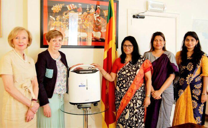 Belgium organization HSF/ZZG donated Oxygen Concentrators to Sri Lanka