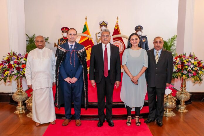 Michael Appleton became the New Zealand first resident High Commissioner to Sri Lanka