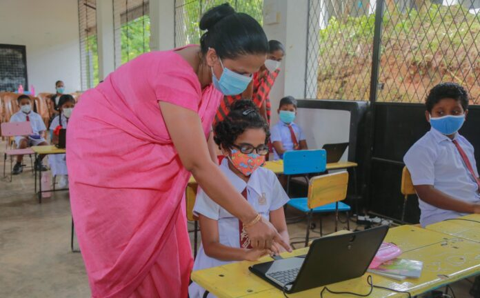 Sri Lanka Teachers Strike and Students Online Education Impact