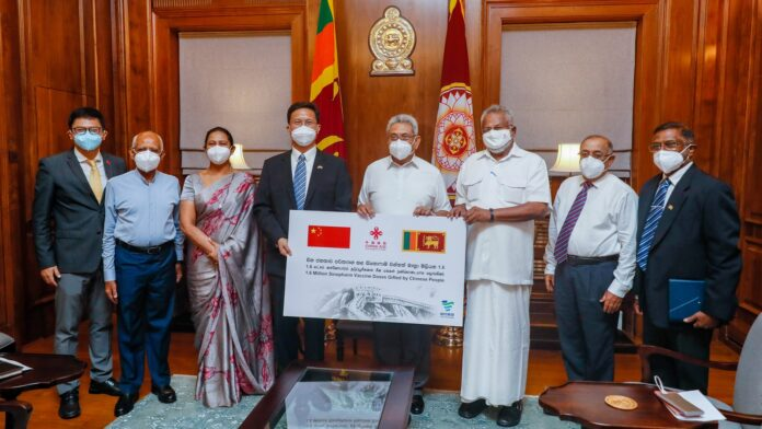 China donates another 1.6 million doses of Sinopharm to Sri Lanka