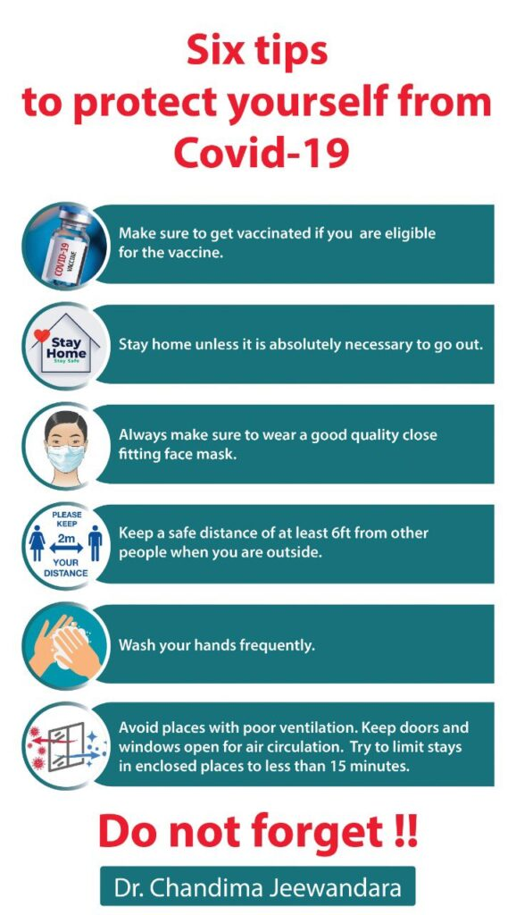 COVID Safety Tips