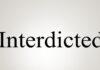 Interdicted