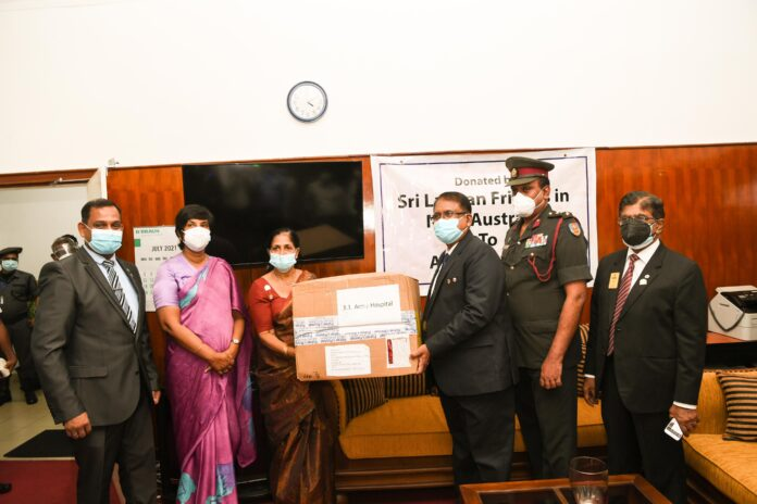 Lions Club and several other donors provide 10 million worth medical equipment to hospitals