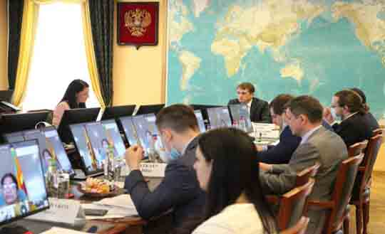 Meeting of the Co-Chairs of the Sri Lanka-Russia Intergovernmental Commission on Trade Economic Scientific and Technical Cooperation