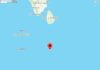 NO tsunami threat to Sri Lanka due to magnitude 5.2 earthquake at South Indian Ocean