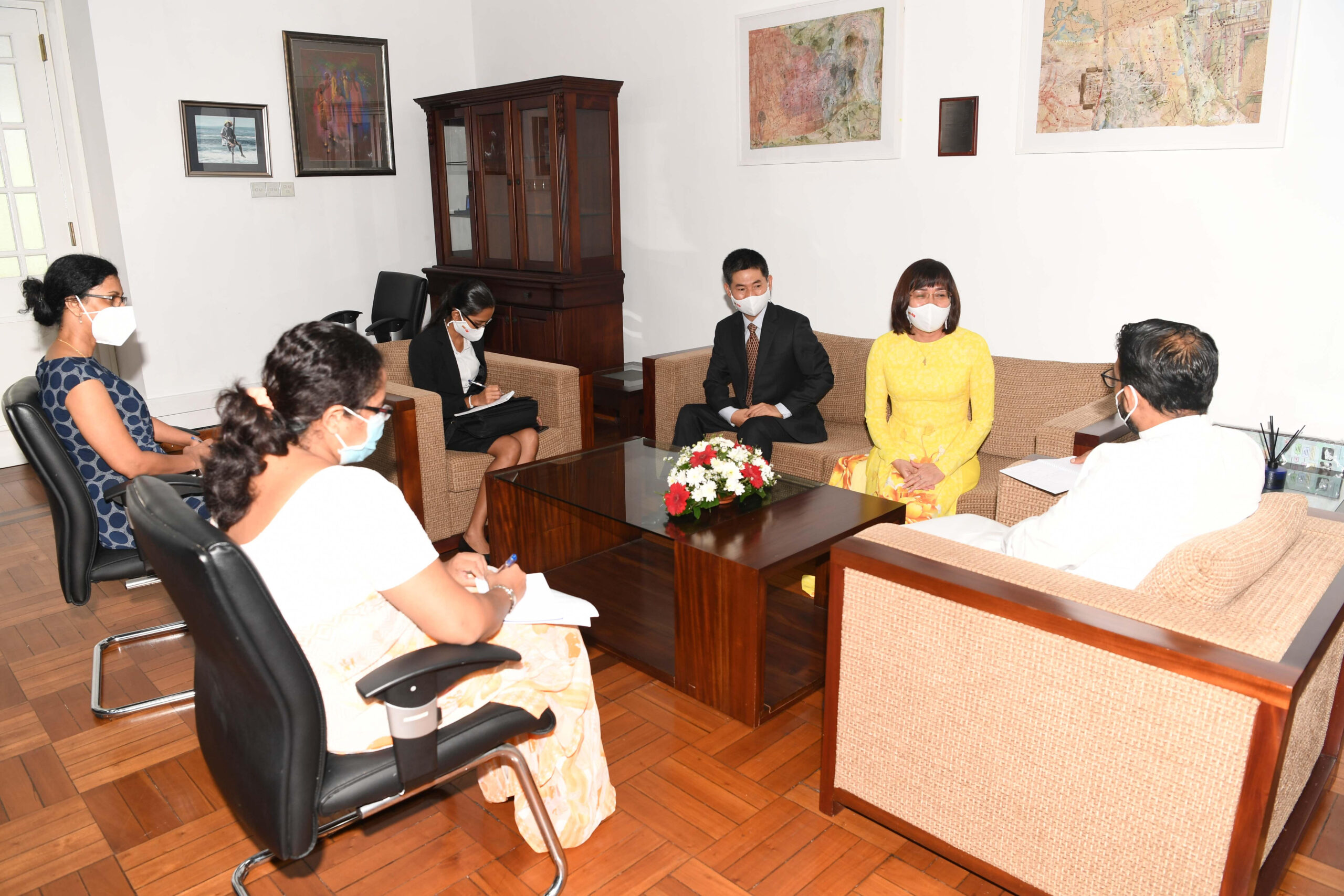 Viet Nam Sri Lanka Bilateral Relations to get a boost in Organic Farming, Investments in IT Sector and Tourism
