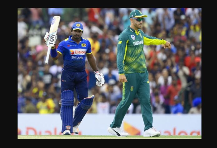 Sri Lanka Vs South Africa Cricket Series 2021