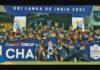 Sri Lanka won the 3rd ODI Cricket match and Series beating India