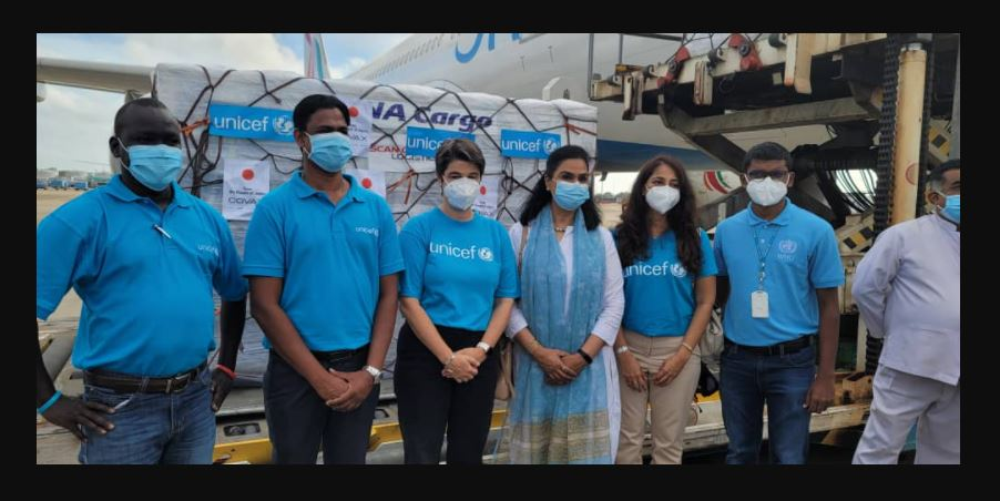 Sri Lanka receives a large consignment of AstraZeneca vaccines from Japan via the COVAX Facility