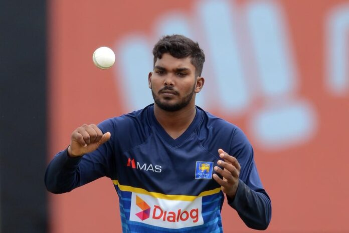 Wanindu Hasaranga ranked top 4 in latest ICC T20I bowling rankings