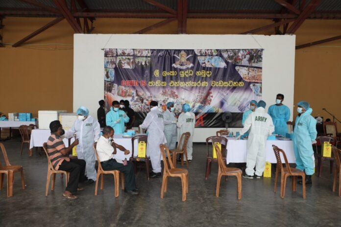 10 million Sri Lankans had received their first dose