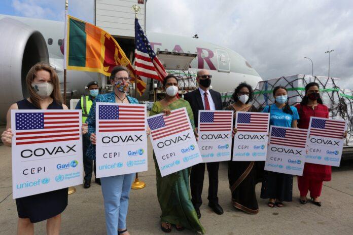 U.S. donates over 1.5 million Moderna COVID-19 vaccines to Sri Lanka