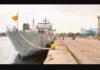 SLNS Shakthi in India for shipment of medical Oxygen to Sri Lanka